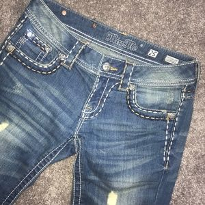 size 25 Miss Me skinny jeans