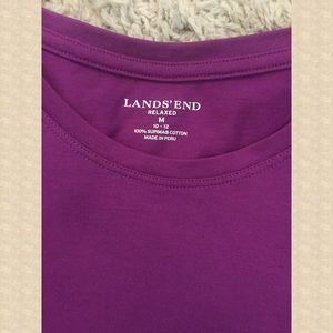 LANDS' END, long sleeve,  Supema cotton,  Medium