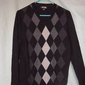Black Diamond Mens Sweater Size Medium