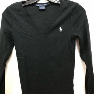 Long sleeve v neck sweater / good condition