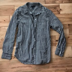 Gap checkered shirt