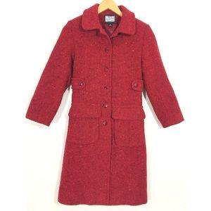 [Rothschild] Tweed boucle trench coat
