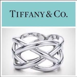 Tiffany & Co love knot ring