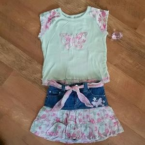 Butterfly beauty outfit