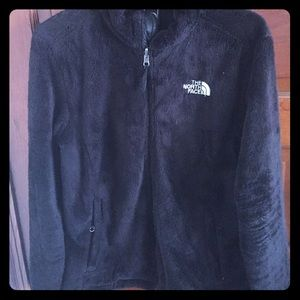 North Face fuzzy fleece