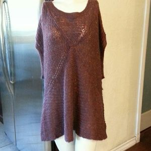 Free People Tatiana Chunky Knit Pullover NWOT
