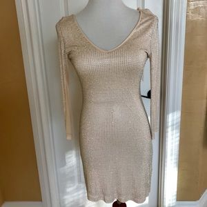 Bebe rhinestone dress