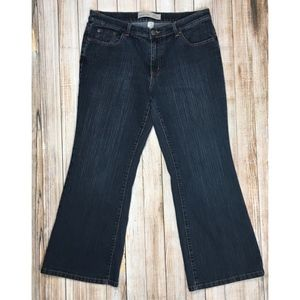 Venezia petite stretch flare jeans by Lane Bryant