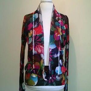 Desigual floral sweater.