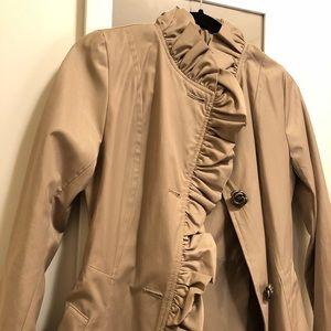 Betsey Johnson small trench coat