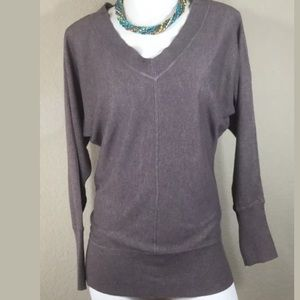 Loft Brown Sweater, Size Medium