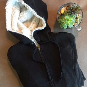 Old Navy Fur Lined Sweatshirt