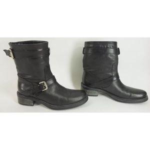 Industria Nazionale Gomma E Affini Black Low Boots