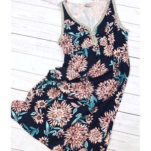 Lucky Brand Floral Sundress M