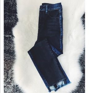 Anthropologie 2for cropped denim size 27 Brand New