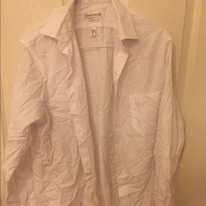 Button Down Dress Shirt, Size 32/33