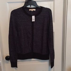 Loft glittery cardigan size Medium