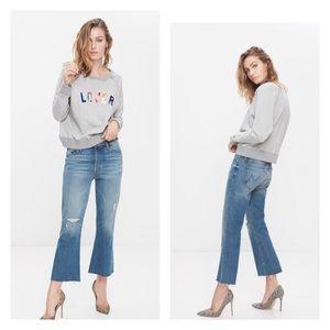 Mother Denim Nomad Crop Fray jeans