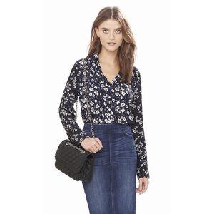 Express Original Fit Mixed Floral Portofino Shirt