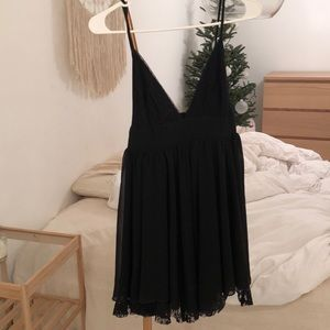 Black dress from urban outfitters