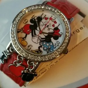 Micky and Minnie mouse I❤U watch
