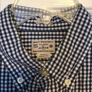 J Crew Woven Dress Shirt