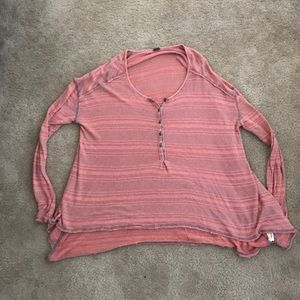 Free People We The Free sweater top size large