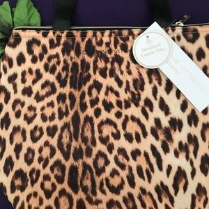 Leopard Insulated Tote