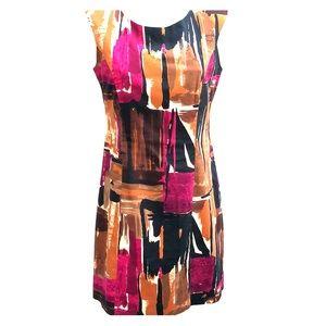 Multi colored Madison Leigh petites dress 8P