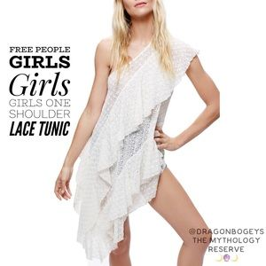 Free People Girls Girls Girls Lace Tunic