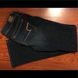 American Eagle kick boot jeans size 6 Long