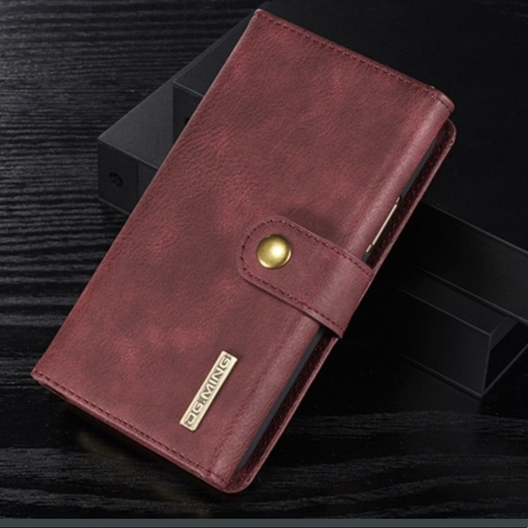 709a1d926ab3 DG.MING Accessories | Iphone 7 Plus Genuine Leather Trifold Wallet ...