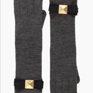 Kate Spade Stud Bow Knit Long Glove