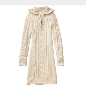 Athleta Hut To Hut Hoodie Sweater Dress XS