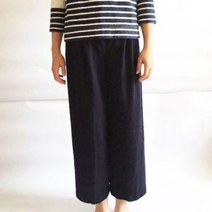 Valentino wool blend pants - high waist, wide leg