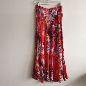 Anthropologie Floral Maxi NWT