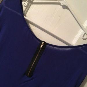 3/4 sleeve-Royal blue