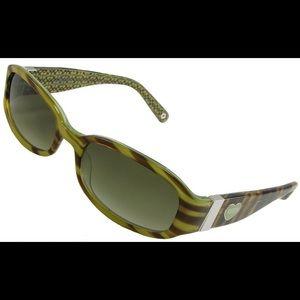 "Coach ""Lindsay"" Tortoise Shell Sunglasses"