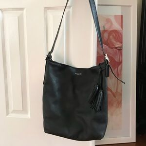 Black Coach Hobo Shoulder Bag