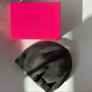 Kate Spade Stud Bow Knit Hat
