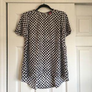 Polka Dots Short Sleeves Top