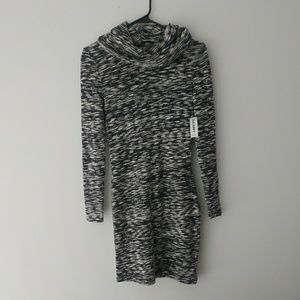 NWT Old Navy Cowl Neck Sweater Dress XS