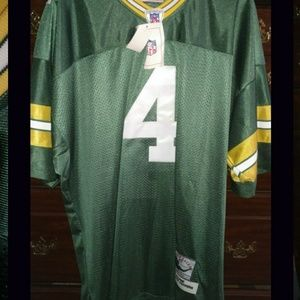 Brett Favre #4 Green Bay Packers Jersey