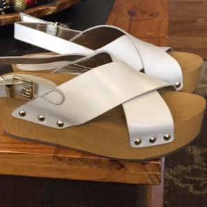 New Sam Edelman platform sandal size 6