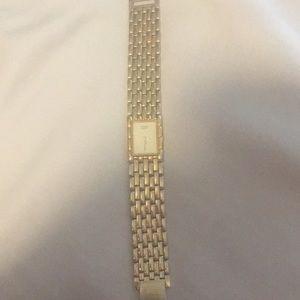 Authentic citizen gold watch