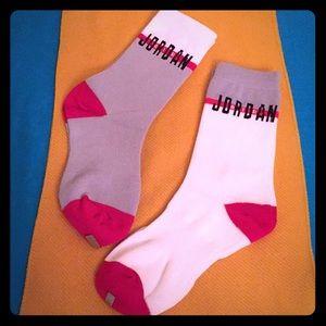🆕 Jordan Kids Crew Socks, 2PK