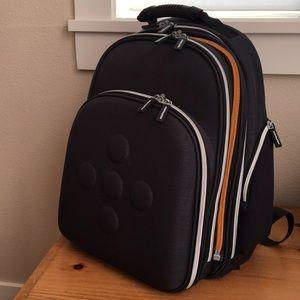 Computer laptop hard shell backpack modern NEW