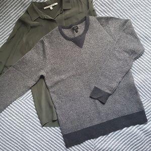 J.Crew Lambswool Mockneck Pullover Sweater
