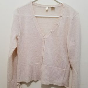 moth Anthropologie mohair cardigan sweater