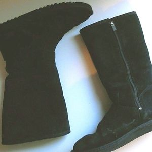 UGG Boots , Classic Tall Black Suede UGG size 5